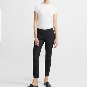 Theory Thaniel Stretch Cotton Crop Pant